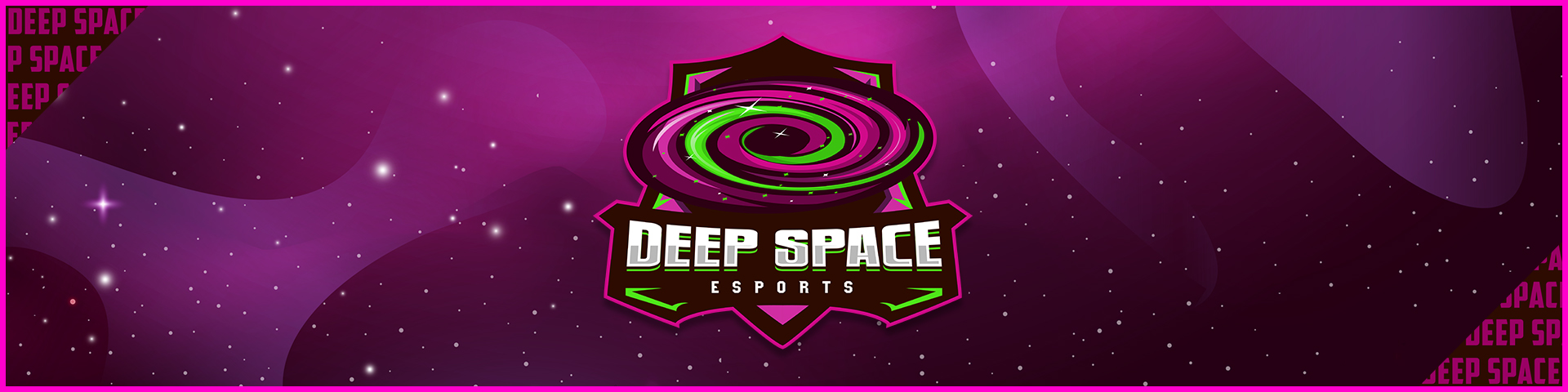 Background Deep Space Esports