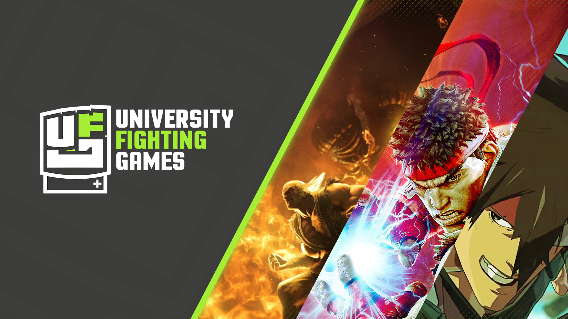 Background University Fighting Games